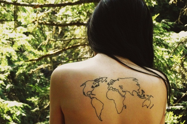 Smart Map Tattoo Design and Ideas (37)