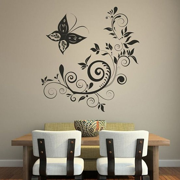 Unique Wall Art Ideas to Make Your Home Alive (45)