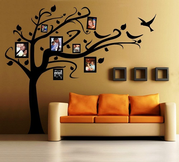 Unique Wall Art Ideas to Make Your Home Alive (58)