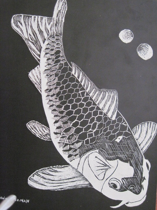 Absolutely Brilliant Scratch Art Ideas (49)