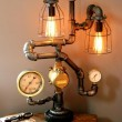 Creative Diy Lamp Ideas Inside Machine Steampunk Lamps Ideas Photo 237 - Lighting Design and Chandeliers