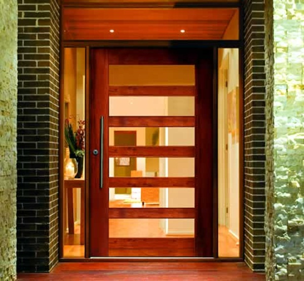 40 brilliant entrance door design suggestions