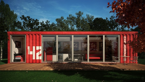 Impossibly Amazing Shipping Container Home Ideas (29)