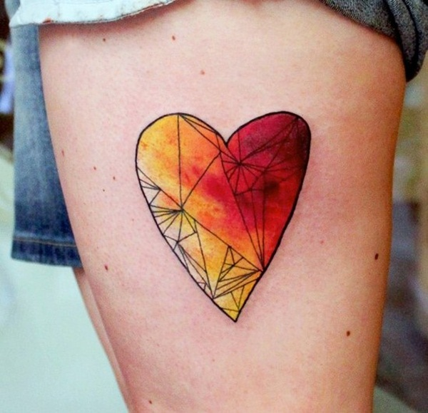 Impossibly Beautiful Water Color Tattoo Designs (15)