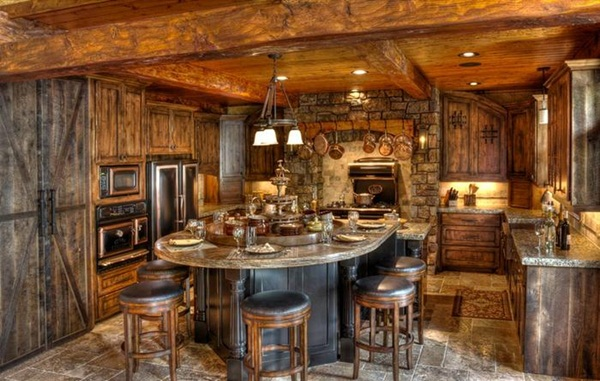 Rustic Log Home Decor: 40 Lovely Rustic Decoration Ideas