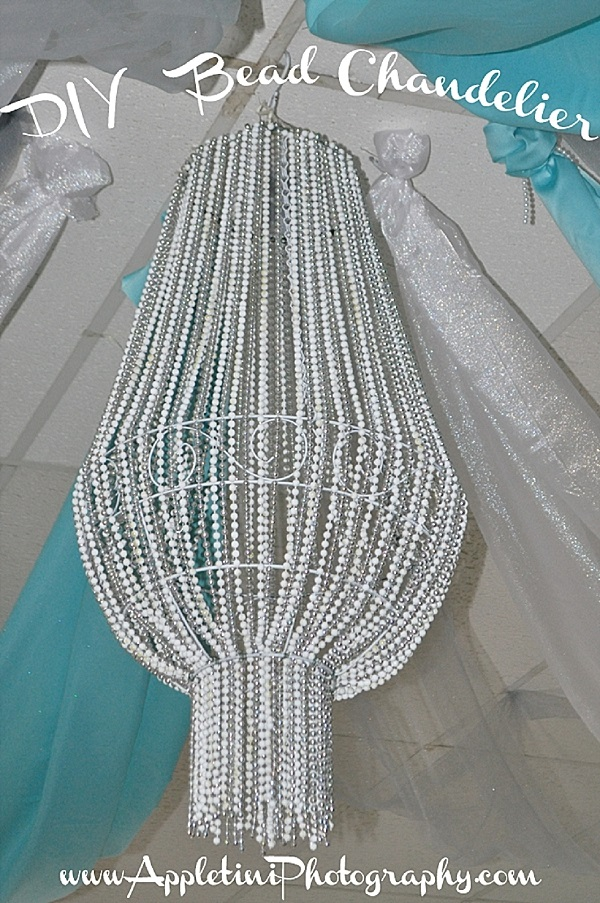 DIY Bead Chandelier Idea for Home Decoration (1)