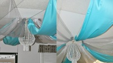 DIY Bead Chandelier Idea for Home Decoration Feature Image