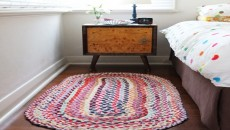 How to Make Braided Rugs with Old T-Shirt  Feature Image