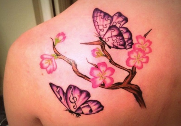 Impossibly Beautiful Water Color Tattoo Designs (34)