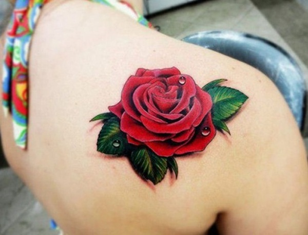 Impossibly Beautiful Water Color Tattoo Designs (36)