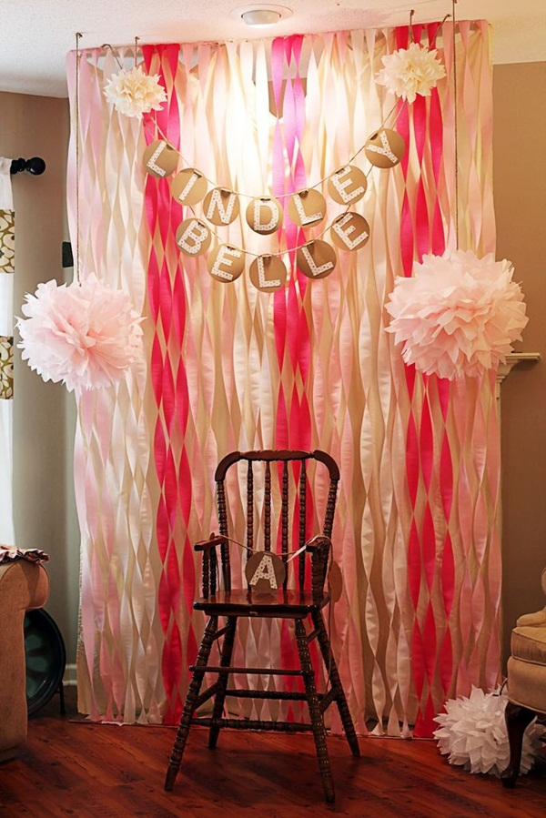 Beautiful Ways to Decorate with Streamers For Special Occasions (14)