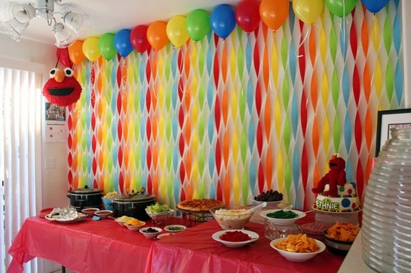 Beautiful Ways To Decorate With Streamers For Special Occasions 17