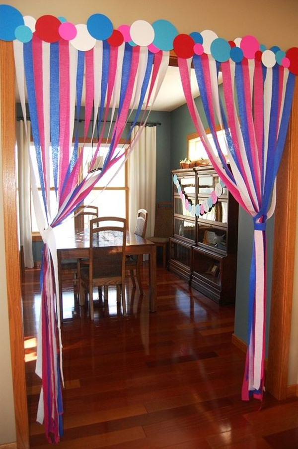 Beautiful Ways to Decorate with Streamers For Special Occasions (18)