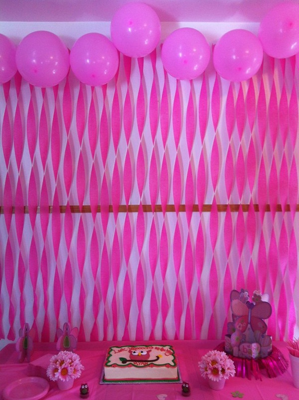 Beautiful Ways to Decorate with Streamers For Special Occasions (2)