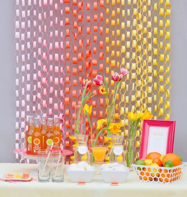 Beautiful Ways to Decorate with Streamers For Special Occasions (30)
