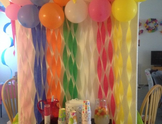 Beautiful Ways to Decorate with Streamers For Special Occasions (33)