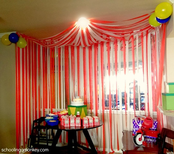 Beautiful Ways to Decorate with Streamers For Special Occasions (38)