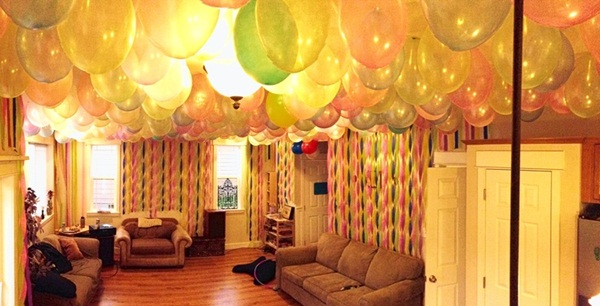 Beautiful Ways to Decorate with Streamers For Special Occasions (40)