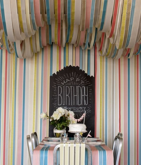 Beautiful Ways to Decorate with Streamers For Special Occasions (5)
