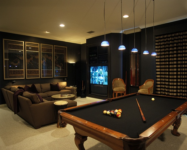 Man cave bathroom designs