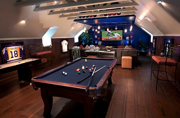 40 best man cave installation ideas - Family game room ideas ...