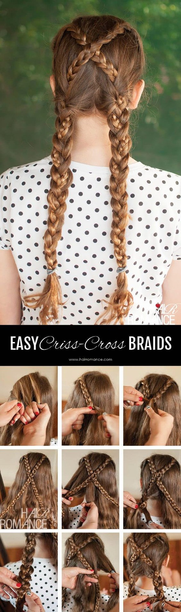 Easy Hairstyles For School (11)