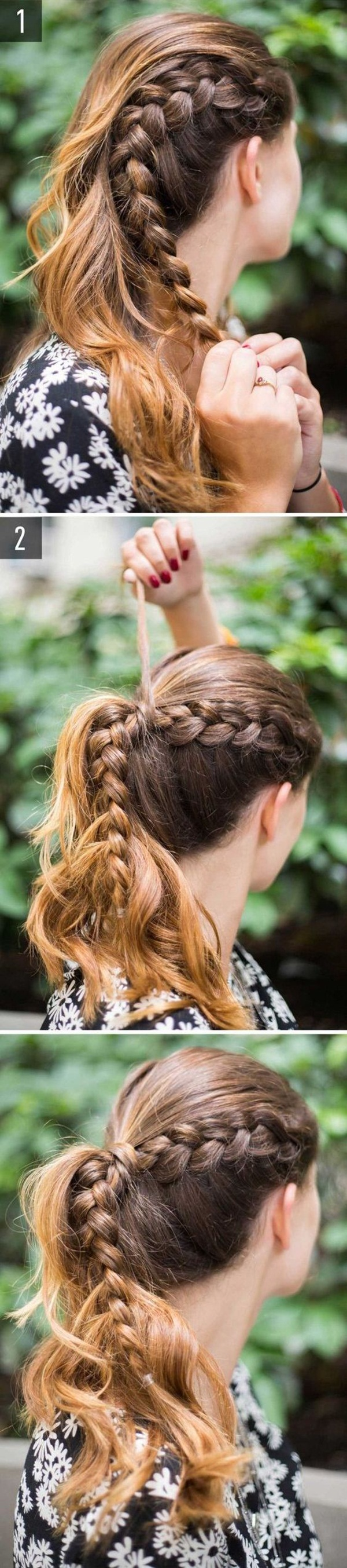 Easy Hairstyles For School (2)