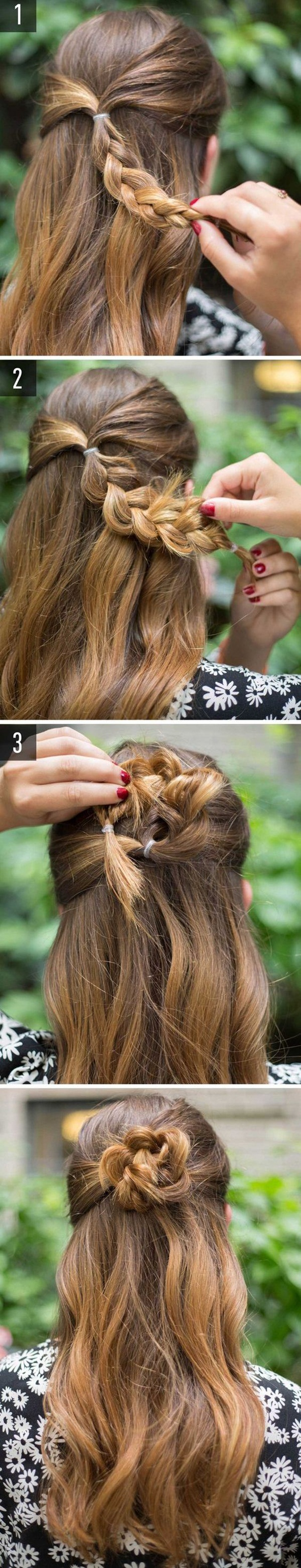 Easy Hairstyles For School (22)