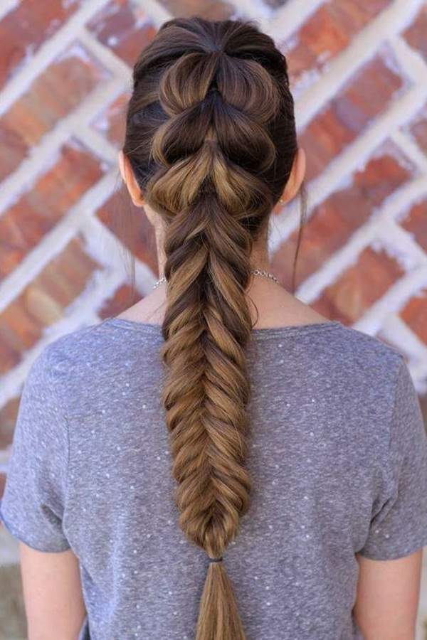 Easy Hairstyles For School (28)