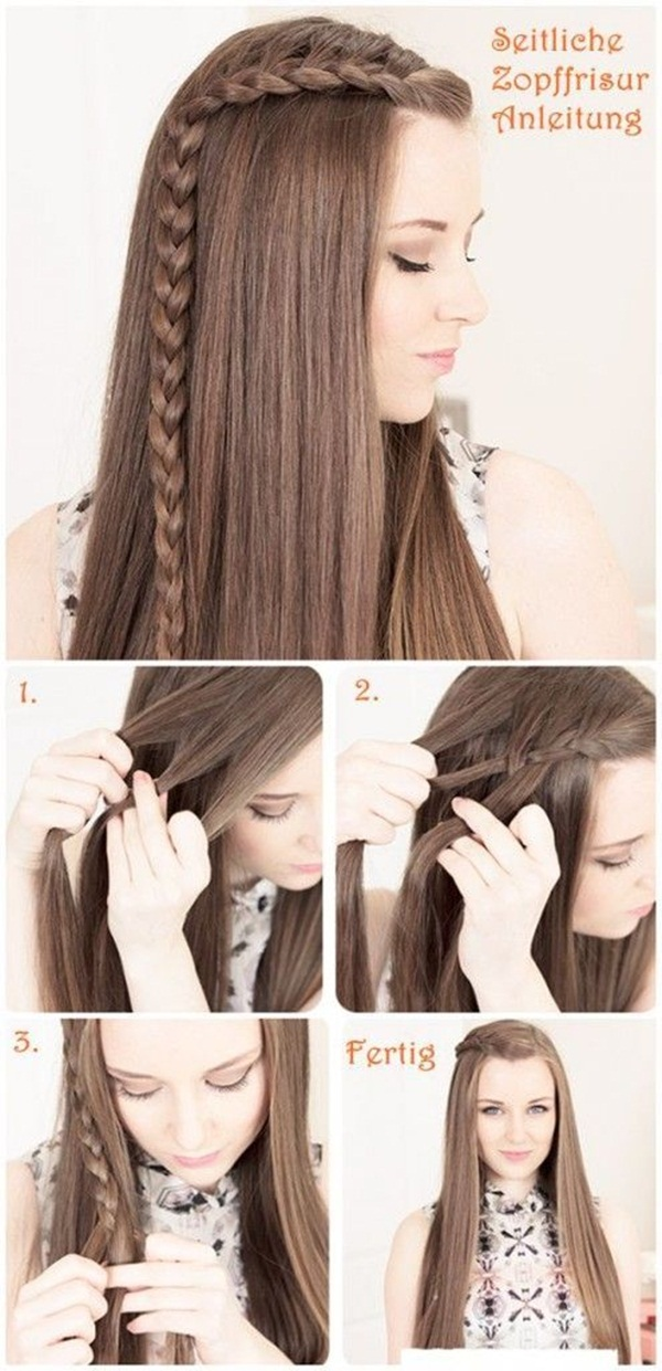 Easy Hairstyles For School (35)