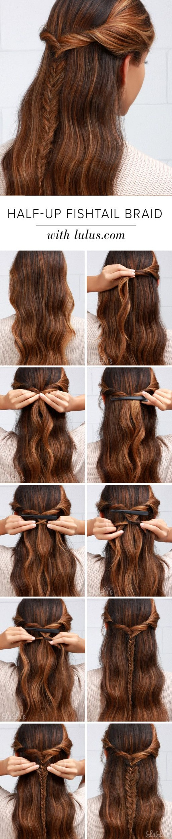 Easy Hairstyles For School (6)