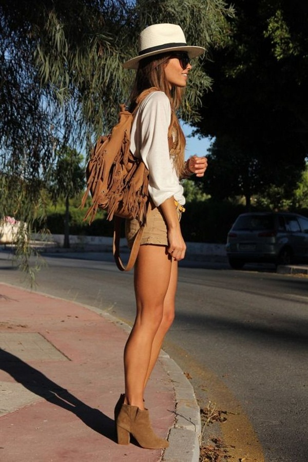 How to wear shorts in summer (23)