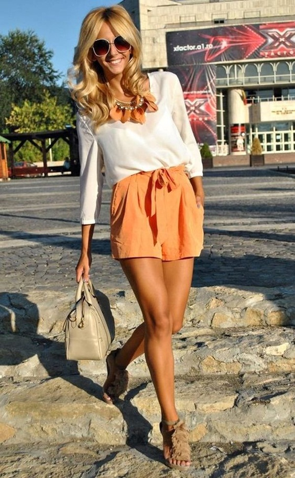 How to wear shorts in summer (3)