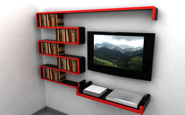Insanely Cool Floating Shelf Ideas For Your Home (1)