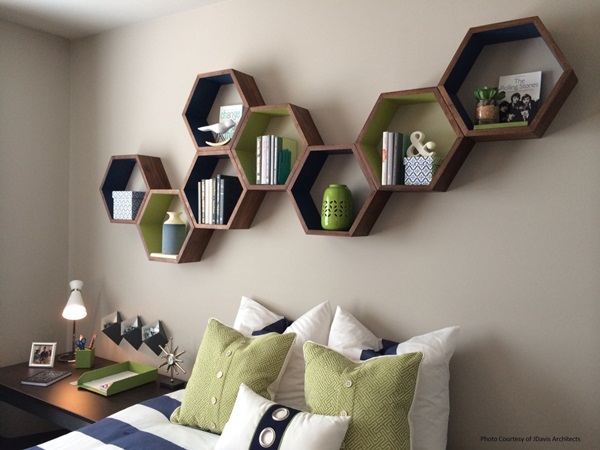 Insanely Cool Floating Shelf Ideas For Your Home (14)