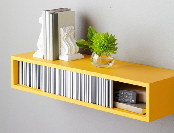 Insanely Cool Floating Shelf Ideas For Your Home (18)