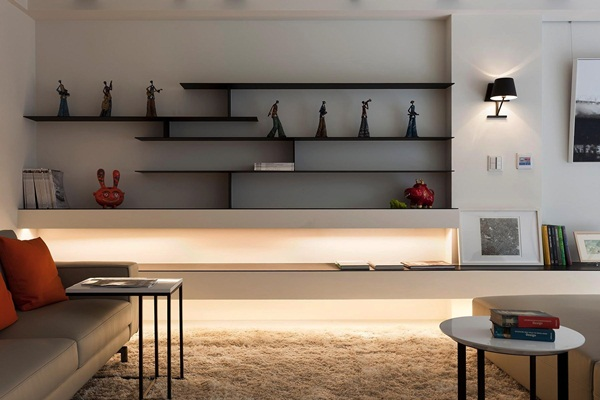 Insanely Cool Floating Shelf Ideas For Your Home (2)