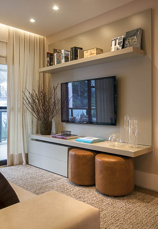 Insanely Cool Floating Shelf Ideas For Your Home (21)