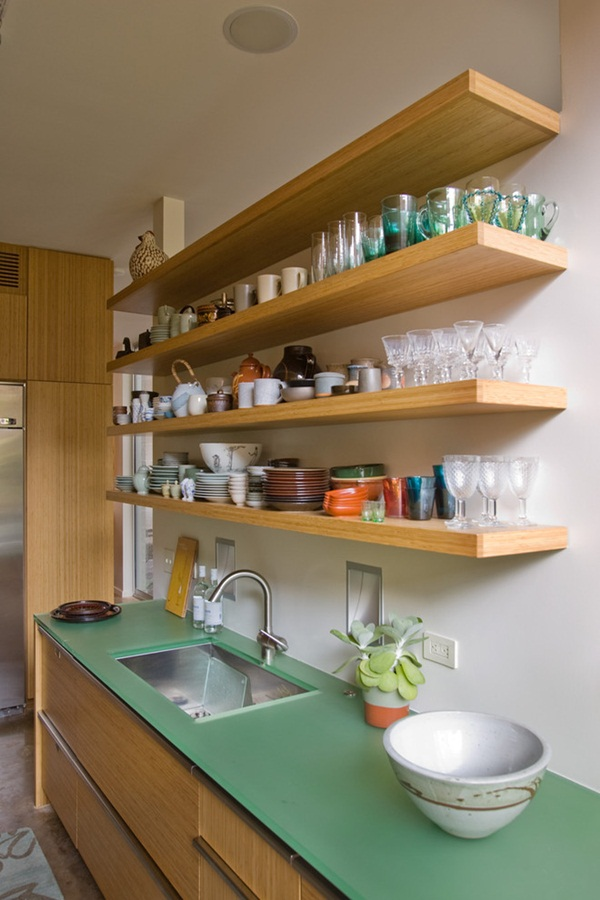 Insanely Cool Floating Shelf Ideas For Your Home (22)
