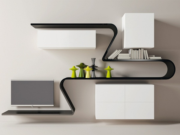 Insanely Cool Floating Shelf Ideas For Your Home (24)
