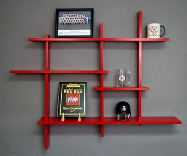 Insanely Cool Floating Shelf Ideas For Your Home (27)