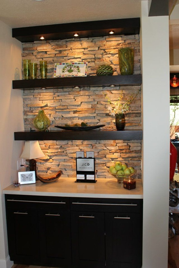 Insanely Cool Floating Shelf Ideas For Your Home (29)