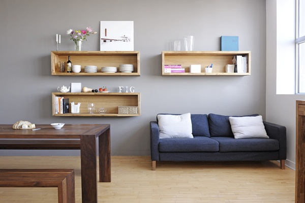 Insanely Cool Floating Shelf Ideas For Your Home (5)