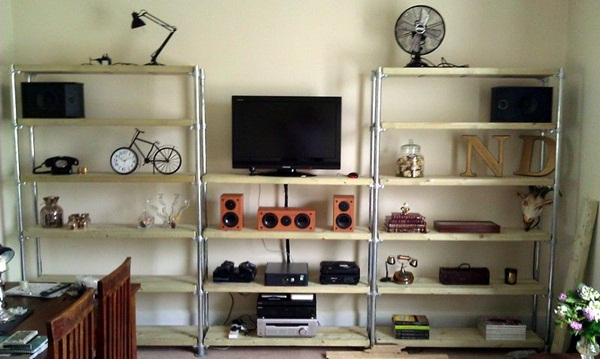 Insanely Cool Floating Shelf Ideas For Your Home (6)