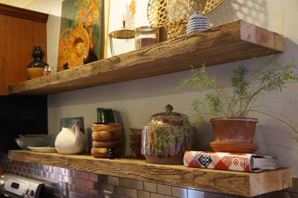 Insanely Cool Floating Shelf Ideas For Your Home (7)