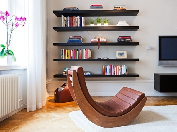 Insanely Cool Floating Shelf Ideas For Your Home (8)