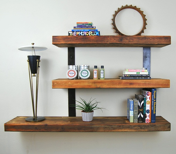 Insanely Cool Floating Shelf Ideas For Your Home (9)