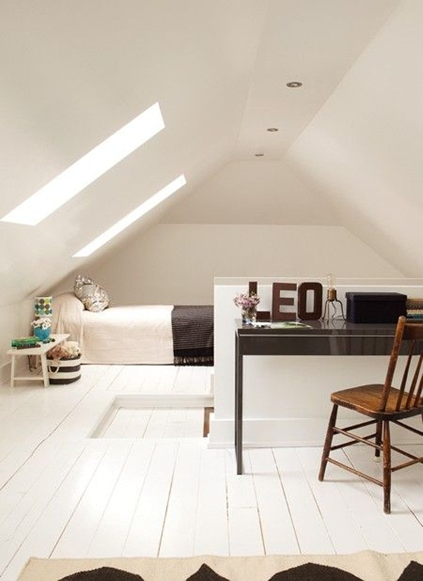 Insanely Cool attic conversion ideas (45)