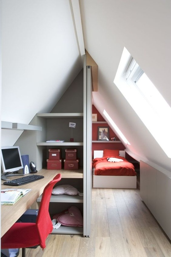 Insanely Cool attic conversion ideas (66)