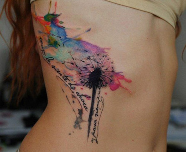Perfectly Placed Rib Tattoo Designs For Girls (7)